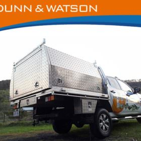 AUS MADE DUAL CAB ALUMINIUM UTE & Aus Made Single Cab Aluminium Ute Canopy - Trailer Parts Direct