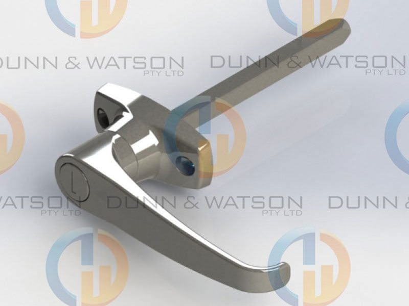 Front Fixing 'L' Handle 3