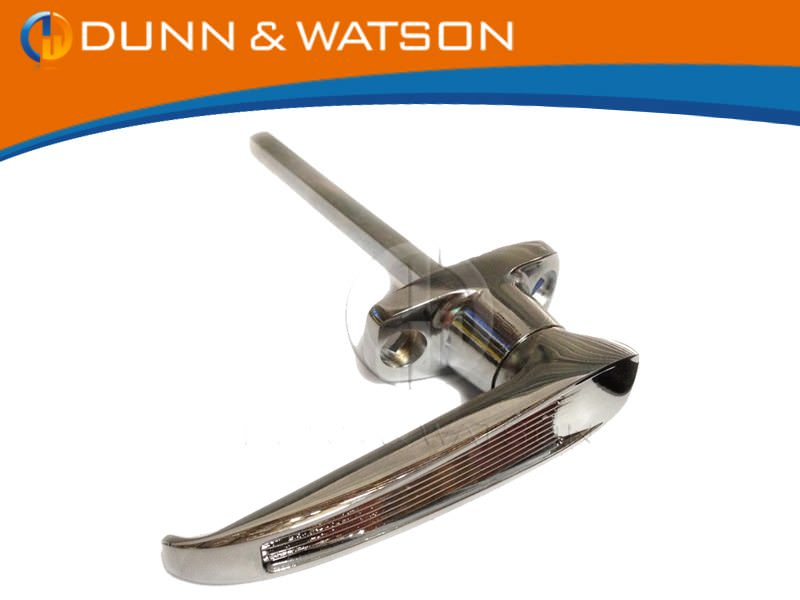 Front Fixing L Handle Non Locking btn