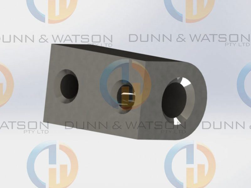 Stepped Pintle Hinge 40mm 8