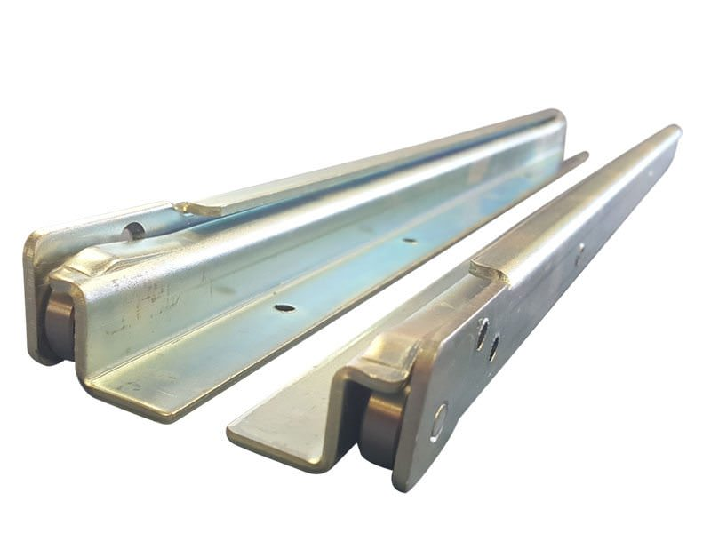 Base Mount Drawer Slides 100kg's 6