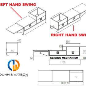 Standard Slide Out Kitchen 1