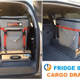 fridge slide cargo drawer installed