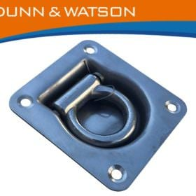 Stainless Steel Recessed Tie Down 1