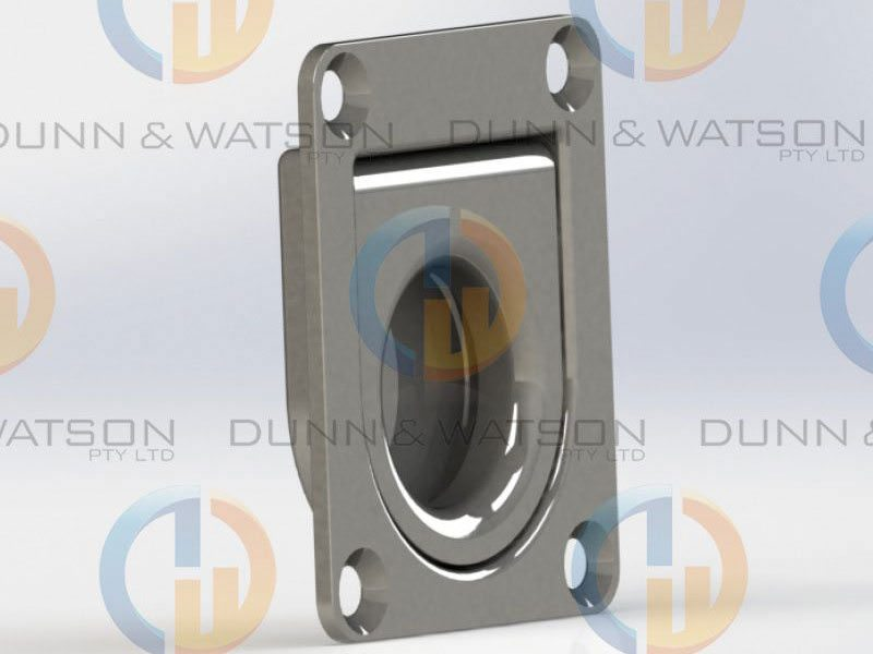 Stainless Steel Spring Loaded Lift Ring 6