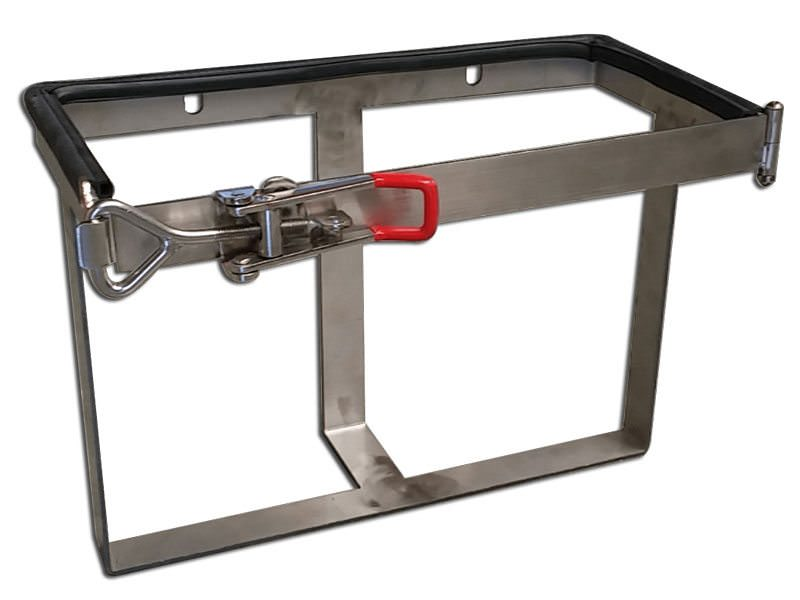 20Ltr Stainless Steal Jerry Can Holder 3