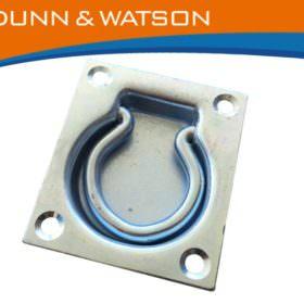 Recessed Zinc Tie Down Medium BTN