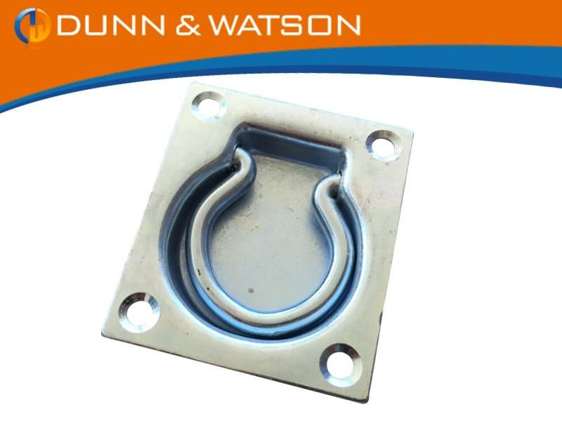 Recessed Zinc Tie Down Medium BTN