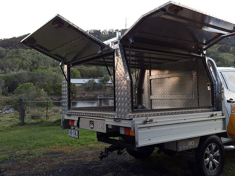 AUS MADE DUAL CAB ALUMINIUM UTE2 & Aus Made Dual Cab Aluminium Ute Canopy - Trailer Parts Direct
