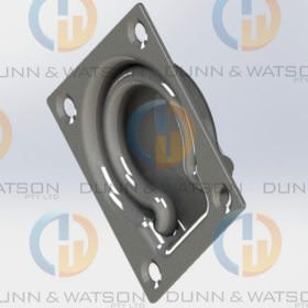 Recessed Stainless Steel Tie Down Small 1