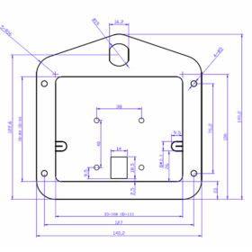 Black Cargo Drawer Lock Handle5