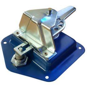 Folding T Handle Blue Powder Coat2
