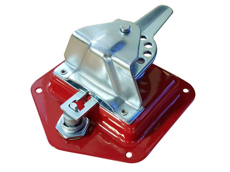 Folding T Handle Red Powder Coat3