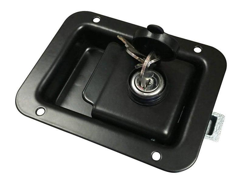 Paddle Handle Black Powder Coat1