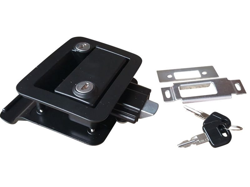 Trailer Door Lock Black3