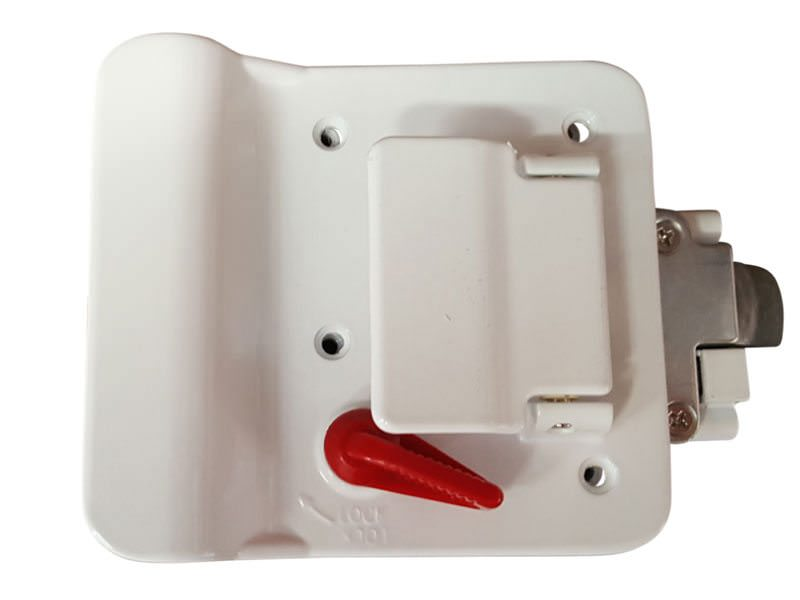 Trailer Door Lock White 4