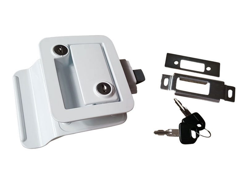 Trailer Door LockWhite 1