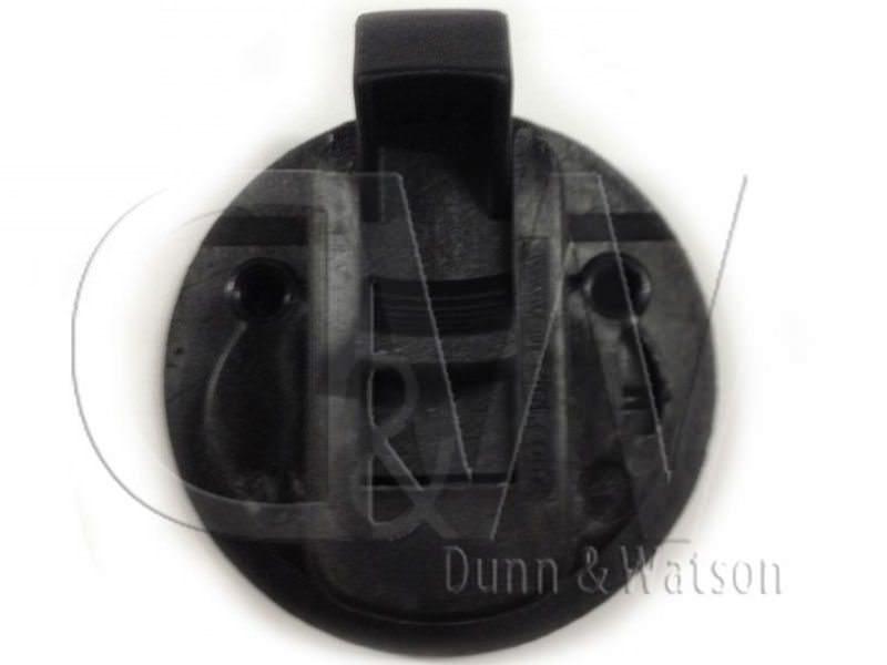 Black Plastic Finger Pull 2