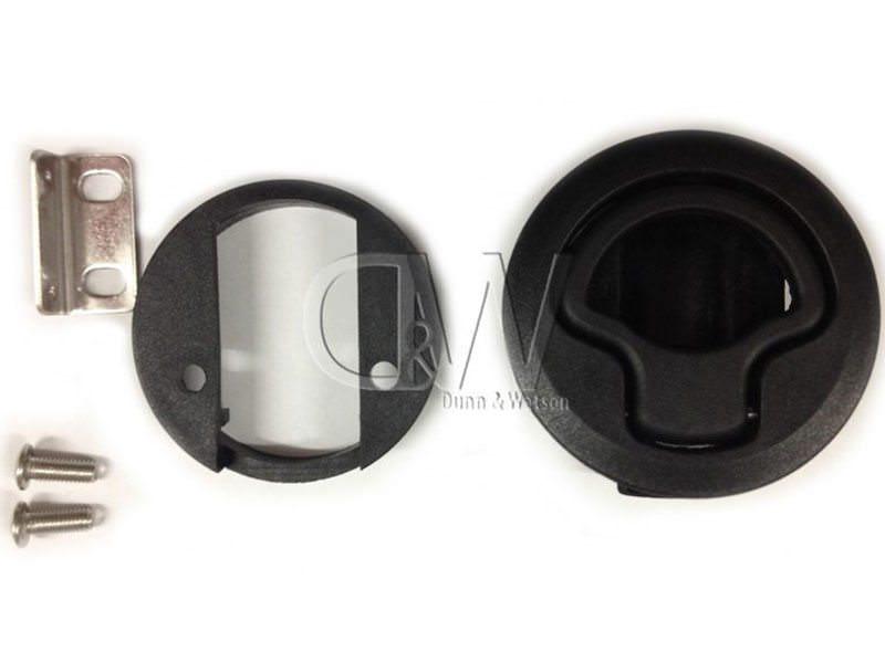 Black Plastic Finger Pull 3