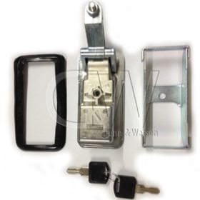 Chrome Thumb Press Compression Locks Small 1