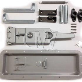 Recessed Cam Kit Aluminium 3