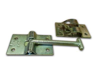 TPD DOOR RETAINER ZINC