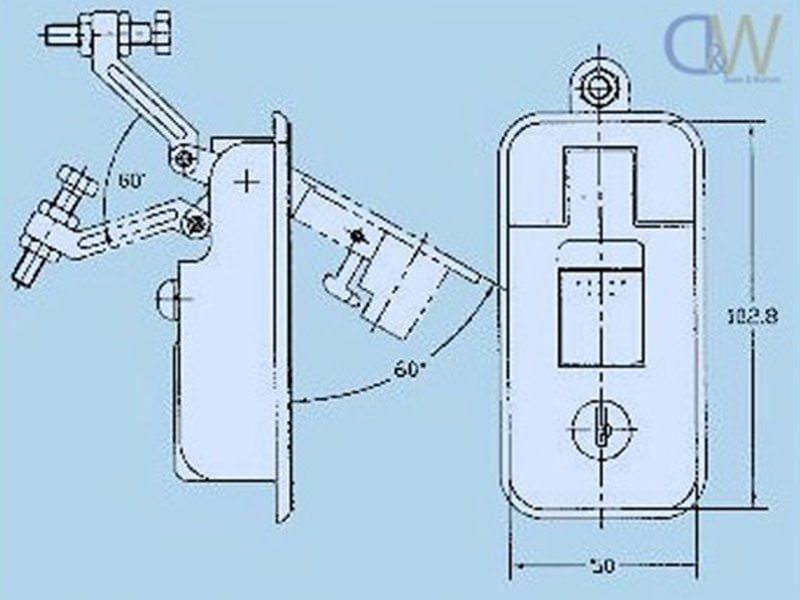 Chrome Thumb Press Compression Locks Large 1 copy 2