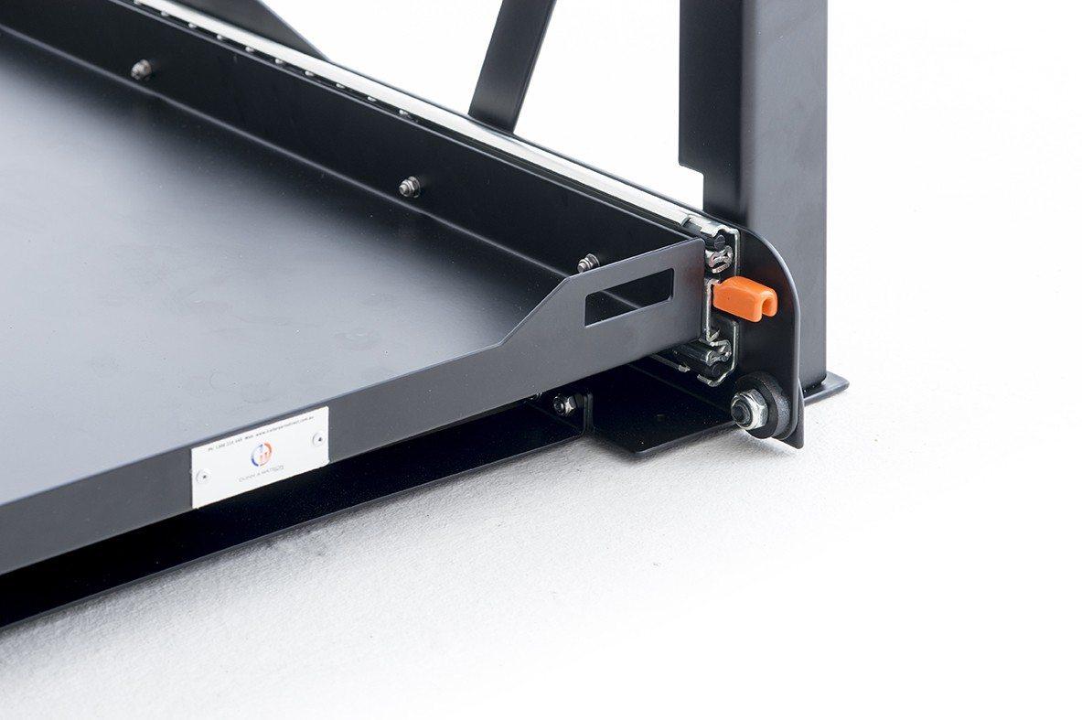 Black Edition Slide And Tilt Fridge Slide 60l Amp Under