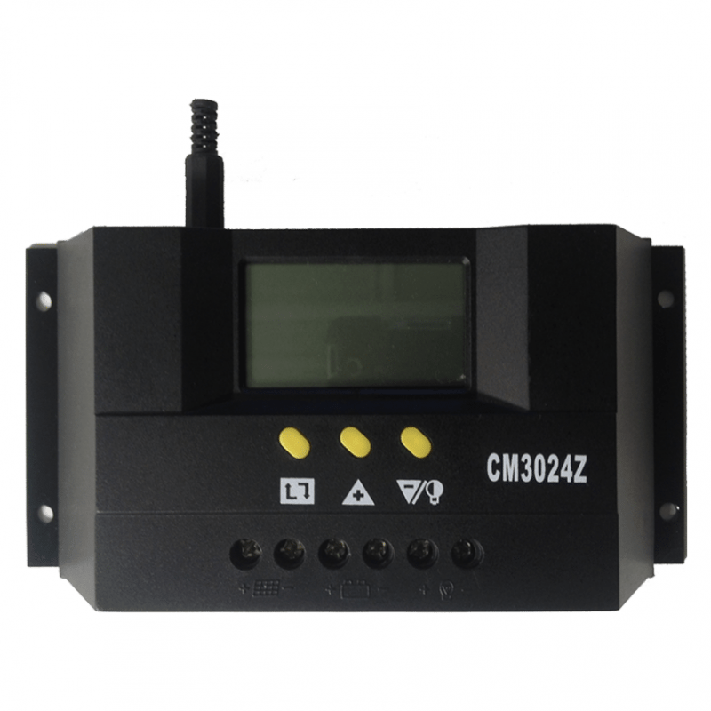 30Amp Solar Controller whitebackground
