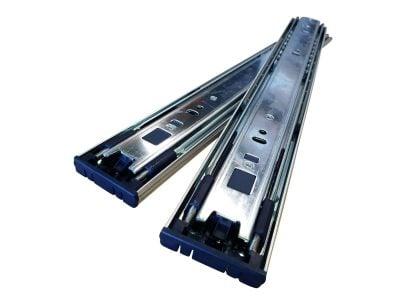 45KG Push To Open Drawer Slides Zinc