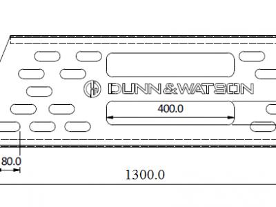 REAR WINDOW PROTECTOR CAD