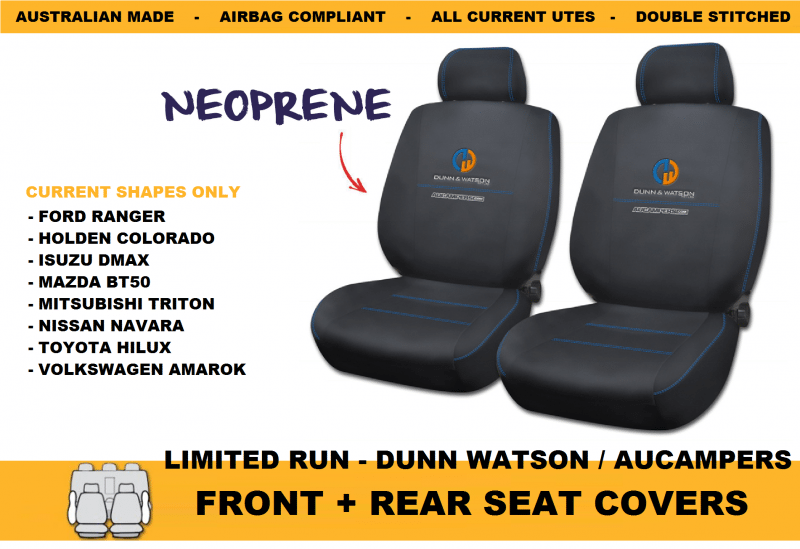 AUCAMPERS SEAT COVERS