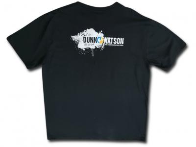 Black T shirt rear