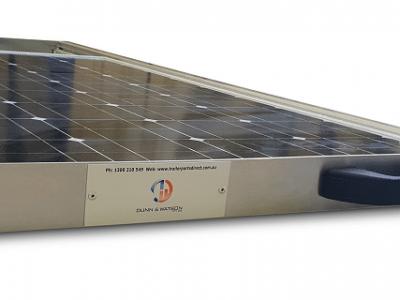 slide out solar panel kit 1
