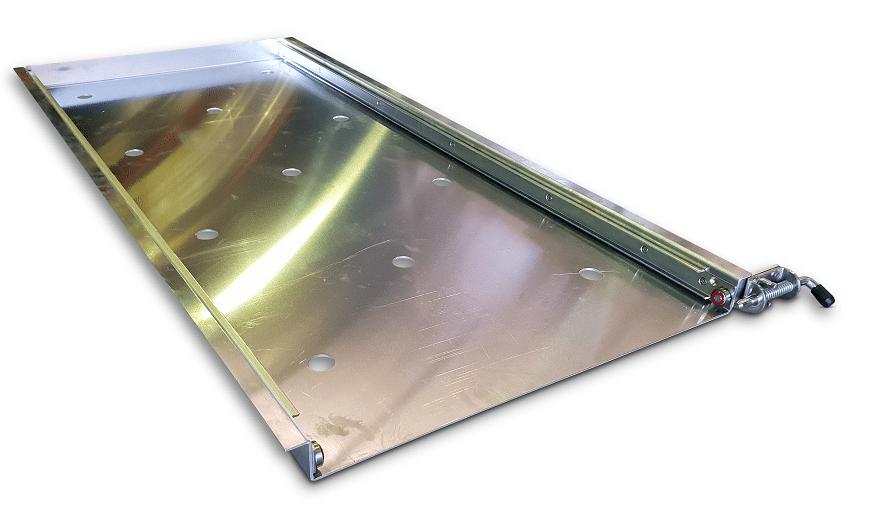 100 Watt Slide Out Solar Panel Trailer Parts Direct