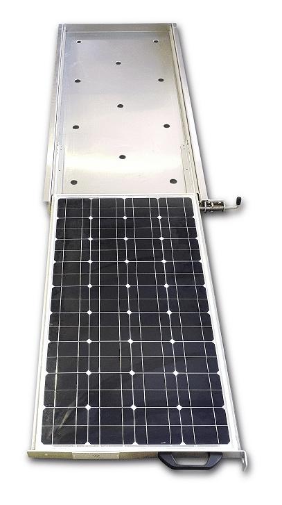 80 Watt Slide Out Solar Panel Trailer Parts Direct
