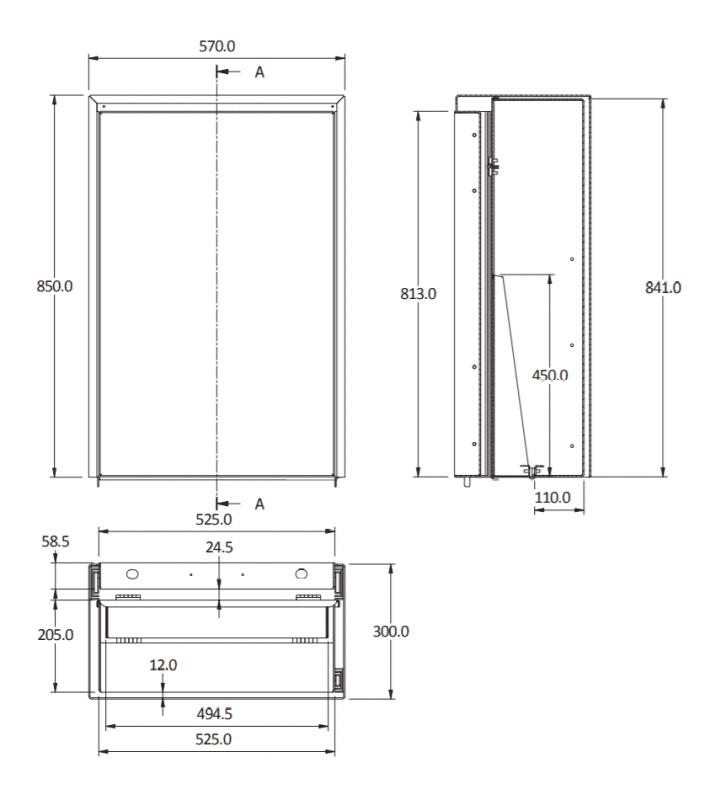 eco bench 850 size