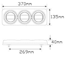 maxilamp size
