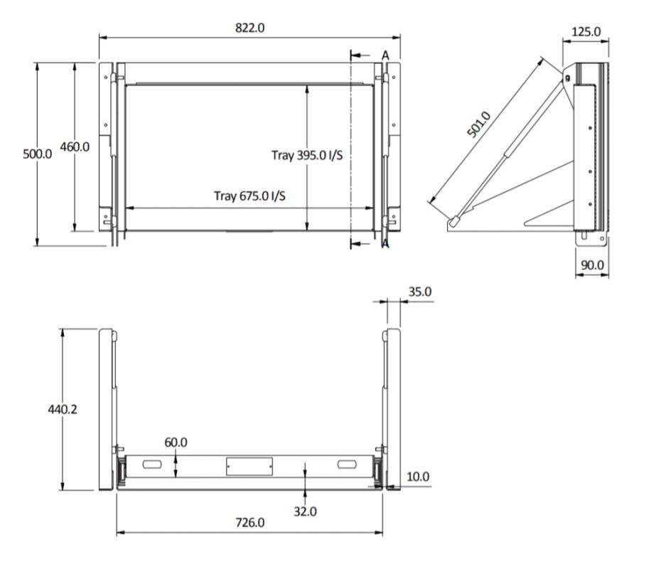 sideways 50 tilt size