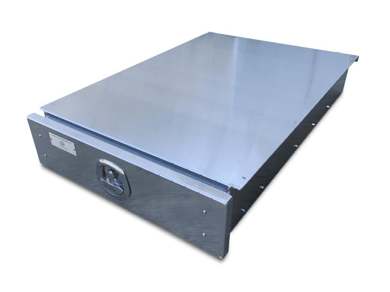 under tray 1