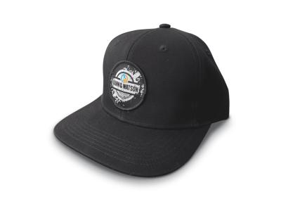 hat black round 1