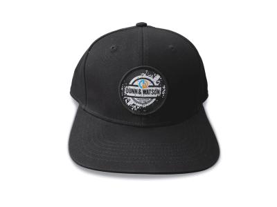hat black round 2