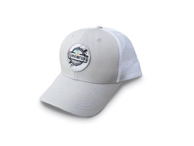 hat white round 1