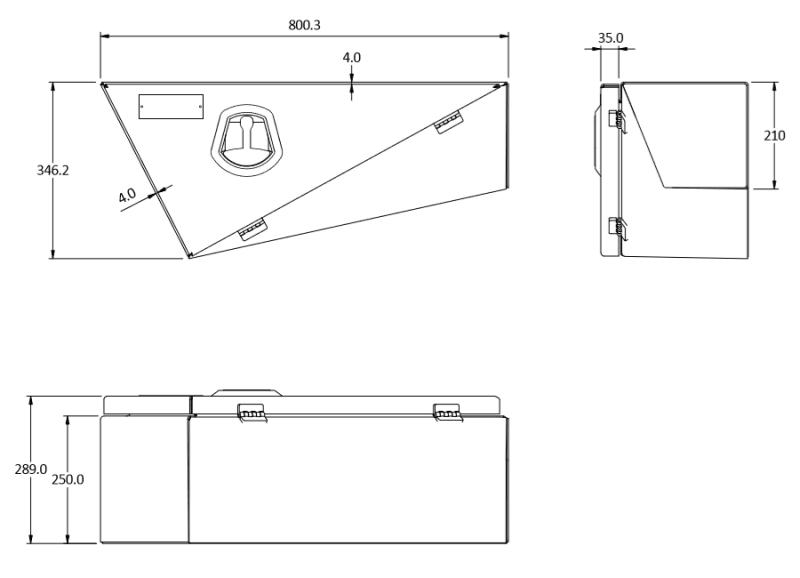 tray toolbox size